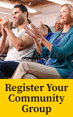 Register your community group